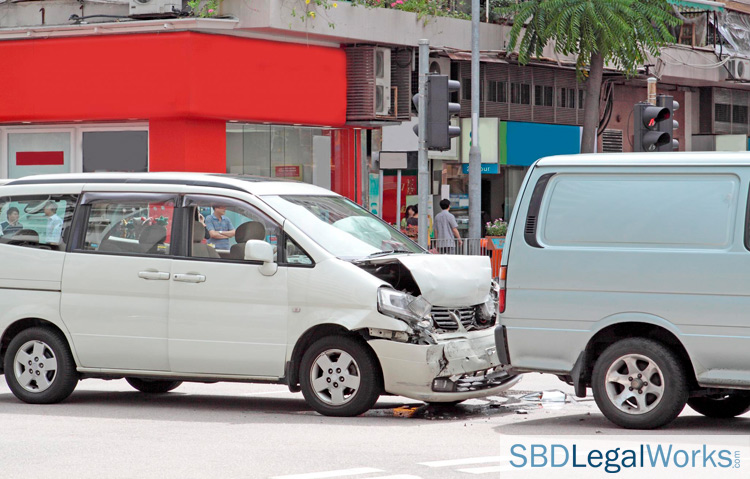 work-related car accident